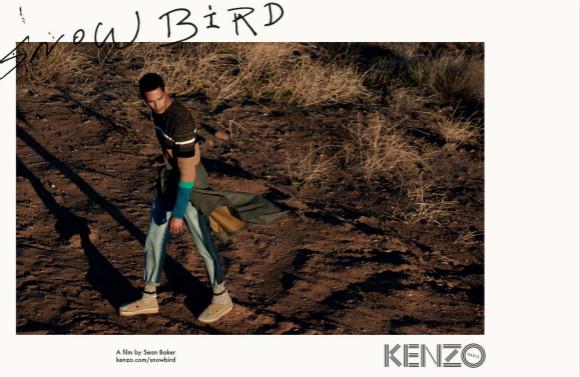 Kenzo拍了部电影 认真探讨了美国的嬉皮士乐园