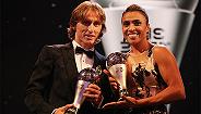 国际足联年度颁奖典礼落幕 莫德里奇当选世界足球先生