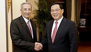 李强会见古巴共产党中央书记处书记、国际关系部部长巴拉格尔