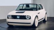 本田公布首款电动概念车Urban EV内饰设计方案