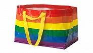 宜家购物袋为了LGBTQ+,换掉了经典的黄蓝配色