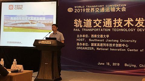 中车长客时速400公里高速动车组将于年底下线