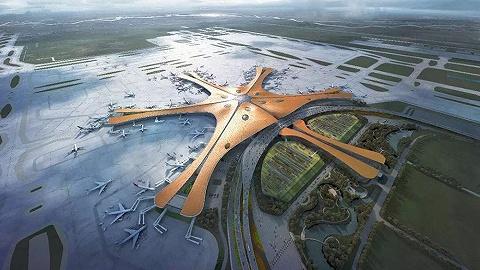 大兴机场高速6月底完工,地铁机场线空载试运行